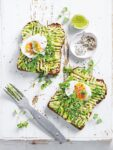 Avocado Toast with Soft-Boiled Egg and Everything Bagel Seasoning