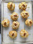 orange pecan scones
