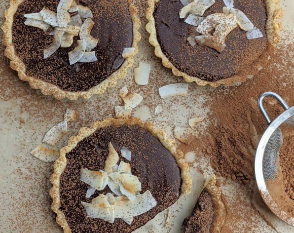 Mini Chocolate Ganache Tarts