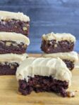 chewy salted caramel brownies