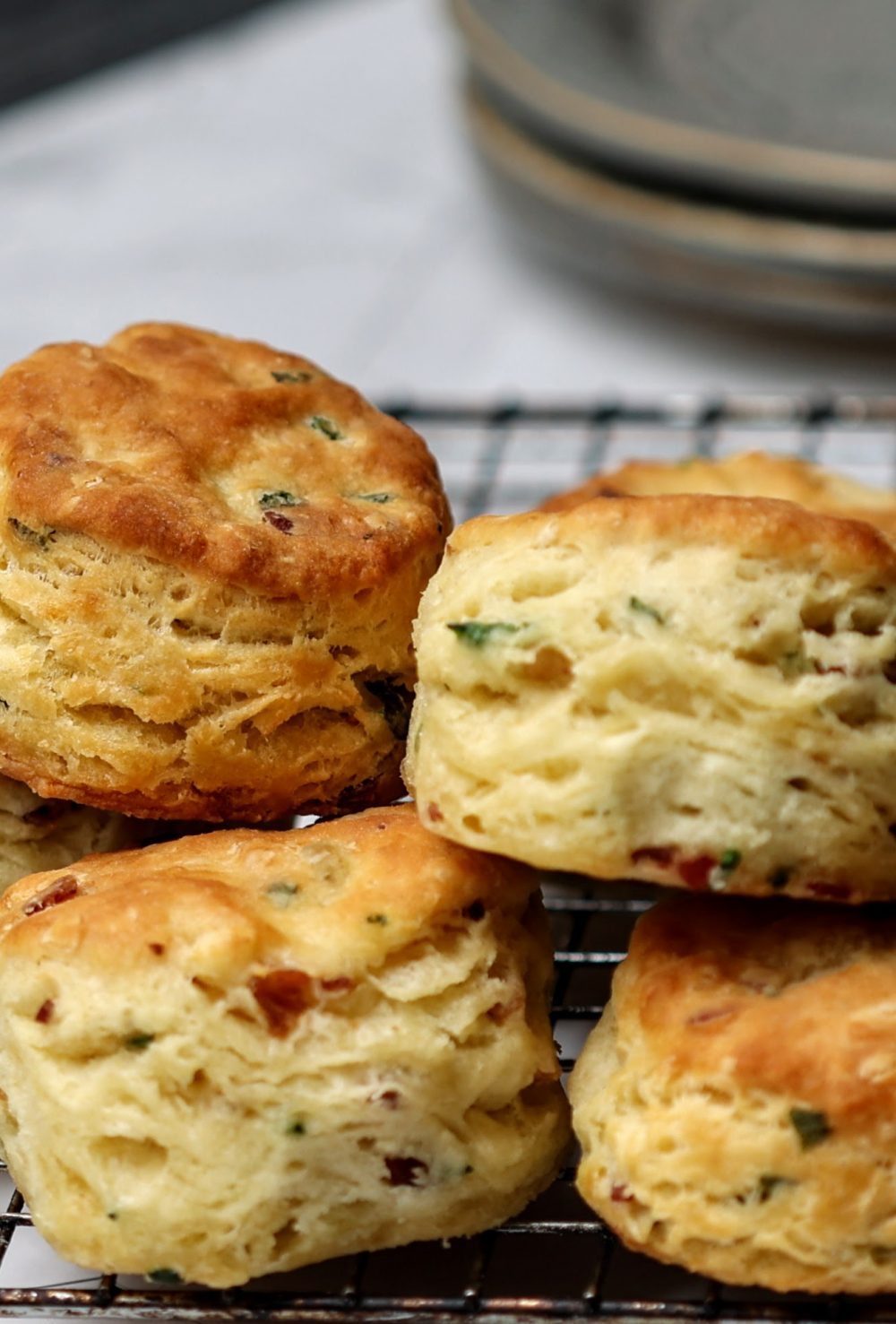 pile of buttermilk biscuits
